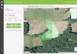 Desarrollo de un sistema de publicación de mapas y estadísticas agrícolas